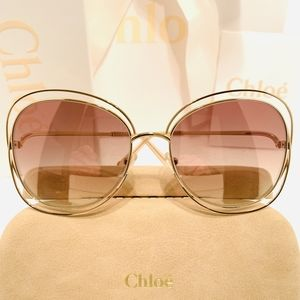 Chloe Sunglasses Style CE119S in Gold